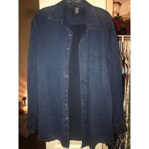 American Apparel Unisex Chambray Shirt